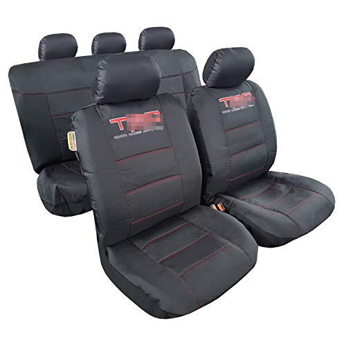 ITAILORMAKER Canvas Seat Covers for Toyota Tacoma 4Runner Rav4