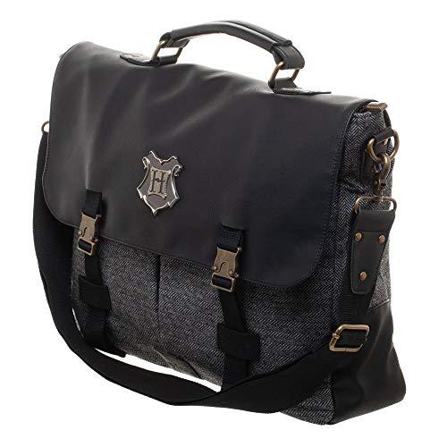 Deluxe Potter Harry Borsa Nero 40x33x11cm Hogwarts Bioworld Grigio PwqI1EFwx6