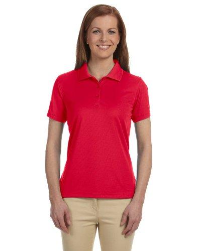 - Devon & Jones Ladies' Dri-Fast Advantage Solid Mesh Polo XL Red