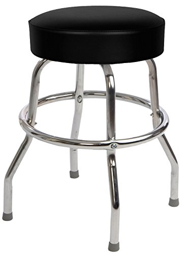Budget Bar Stools 0-1950BLK24 Guitar Stool Professional Guitaristu0027s Stage Stool PVC 16  L x 16  W x 24  H Black ...  sc 1 st  Song Simian & The 4 Best Guitar Practice Chairs u0026 Stools u2014 Reviews 2017 islam-shia.org