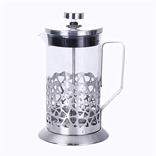 Cafetera Francesa De Émbolo,Taza con Filtro Francés De Acero Inoxidable De 600 Ml Recipiente para Té Y Café Casero Hecho…