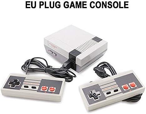 Consola de juegos clásicos Consola Retro Mini NES incorporada 620 Juegos familiares clásicos Reproductor de juegos portátil TV familiar Videojuegos: Amazon.es: Videojuegos
