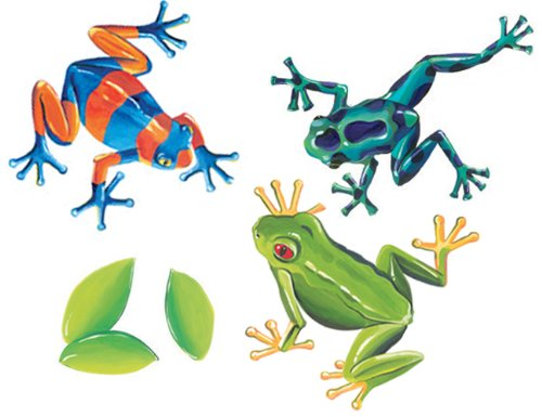 Wallies Tree Frogs Wallpaper Mural