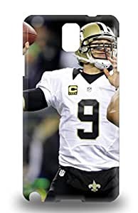 High Quality Durable Protection 3D PC Case For Galaxy Note 3 NFL New Orleans Saints Drew Brees #9 ( Custom Picture iPhone 6, iPhone 6 PLUS, iPhone 5, iPhone 5S, iPhone 5C, iPhone 4, iPhone 4S,Galaxy S6,Galaxy S5,Galaxy S4,Galaxy S3,Note 3,iPad Mini-Mini 2,iPad Air )