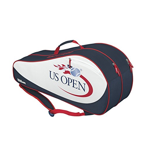 Wilson Limited Edition US Open 6 Pack Red/White/Blue Tennis Bag