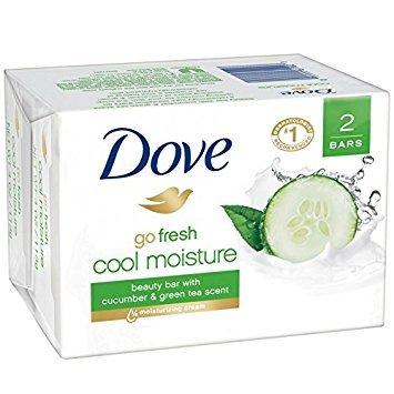 - Dove go fresh Beauty Bar Cucumber and Green Tea 4 oz, 2 Bar