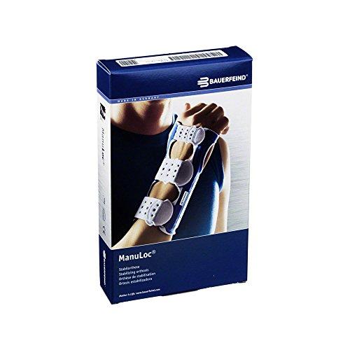 Right Wrist Support Bauerfeind - Bauerfeind Unisex ManuLoc Wrist Support, Titanium, 1 Short