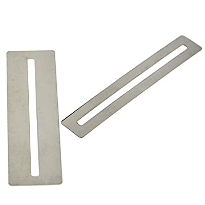 Set of 2 Silver Fretboard Fret Protector Guards for Guitar Bass Luthier Tools from SWHstore