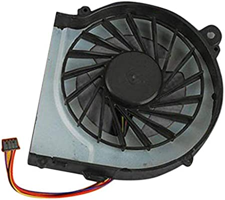 Almencla Ventilador de CPU Enfriador de Laptop Piezas de Repuesto para HP Serie, Información: (4 Hilos) Conector de 4 Pines: Amazon.es: Electrónica