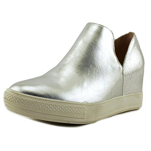 Wanted Womens Adiron Wedge Sneaker Silver VNF77QE2D