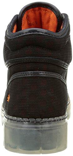 Art Alpine 20 809 - Botas Hombre Negro - Noir (Ebony)