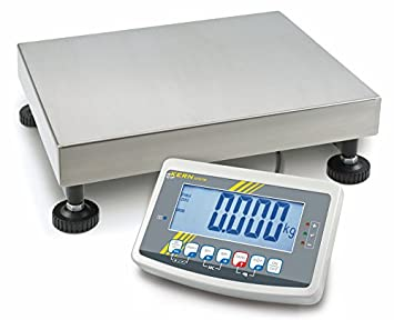 Plataforma robusta Báscula [Kern IFB 30 K5DM] en pesado de acabado con escaneado aprobación [M], rango de pesaje [Max]: 15 kg/30 kg, Lectura [D]: 5 g/10 g, ...