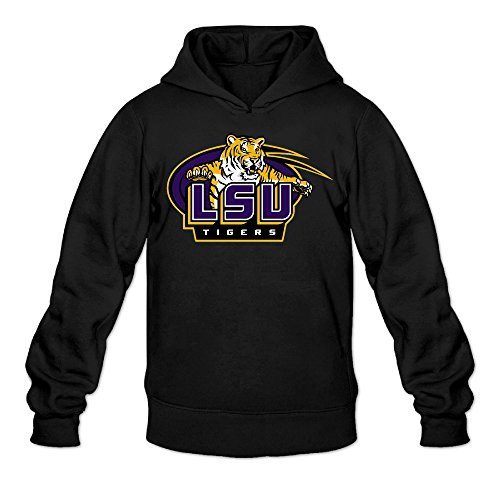 CYANY Louisiana State University LSU Women's Casual Hoodies Hooded Sweatshirt SBlack - Diner Doll Costumes For Women