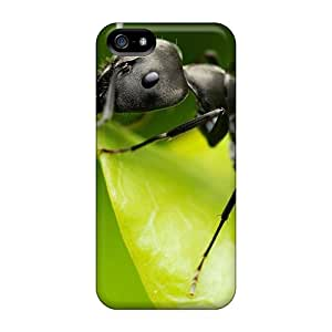Fashionable Style Case Cover Skin For Iphone 5/5s- Black Ant Animal World