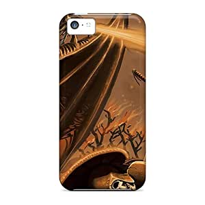 Cute Appearance Covers/crl35946NKfx Warrior Against Dragon Cases For Iphone 5c