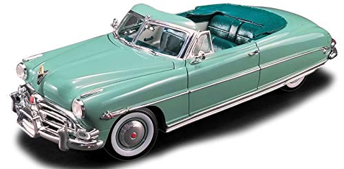 1952 Hudson Hornet Convertible Symphony Green Limited Edition to 600 Pieces Worldwide 1/18 Diecast Model Car by ACME A1807503