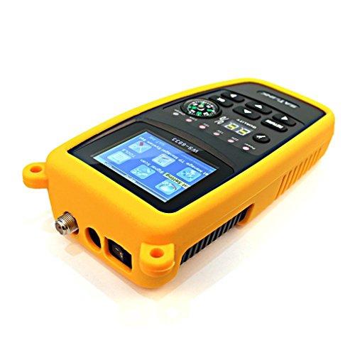 SATLINK WS-6933 DVB-S2 Digital Satellite Finder Signal Meter Buzzer LCD  Antenna Compass for Directv Dish Network