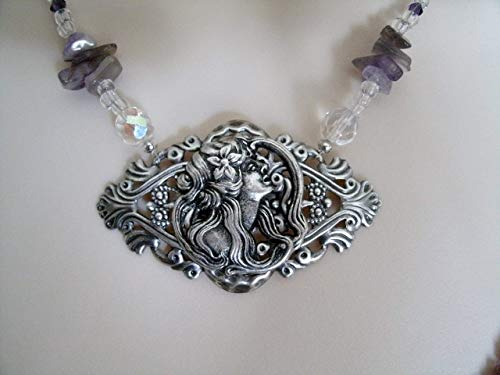 Goddess Hecate Necklace handmade jewelry wiccan pagan wicca witch witchcraft handfasting metaphysical