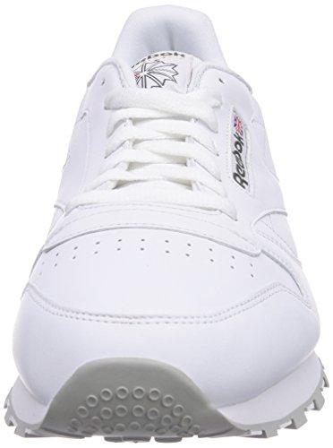 Reebok Classic Leather, Zapatillas De Running para Hombre Blanco (Int-White / Lt. Grey)