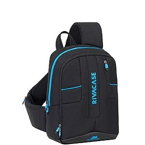 RivaCase- Drone Slingbag medium for 13.3 Inch laptop-7870 black