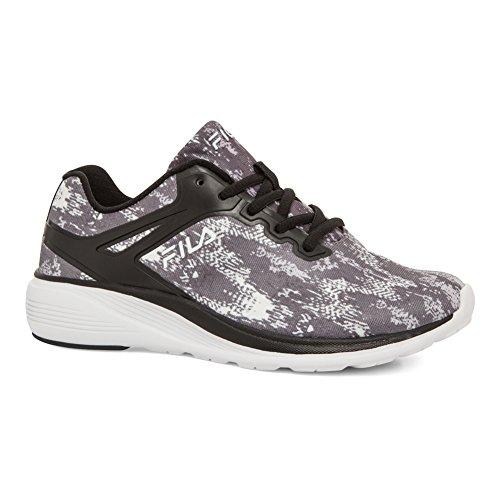 Fila Womens Memory Brannigan Mesh, Rubber Cross Training Sneakers Blk/Dksh/Wht