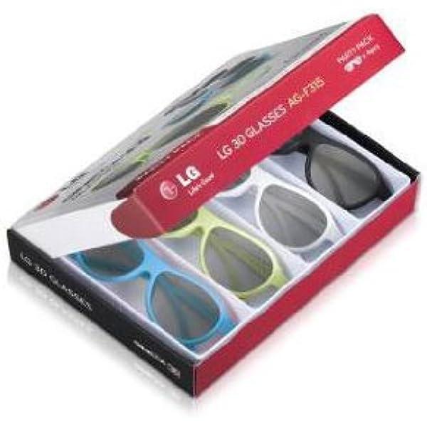 LG AG-F315 - Gafas 3D para televisores LG (4 unidades), multicolor: Amazon.es: Electrónica