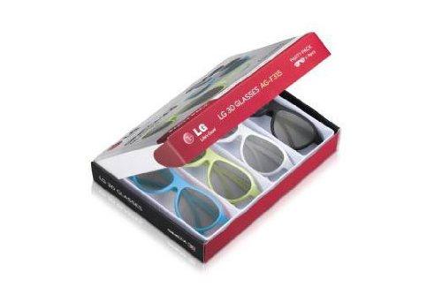 LG AG-F315 3D Party Pack mit 4 Cinema 3D Brillen für LG 3D Cinema TV