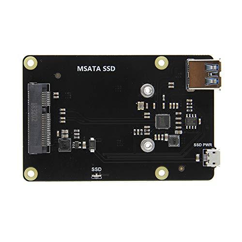 Vipeco X850 mSATA SSD USB 3.0 Hard Disk Storage Expansion Board for Raspberry Pi