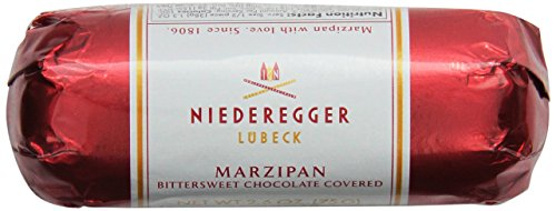 Niederegger Chocolate Covered Marzipan Loaf, 2.6-Ounce (Pack of 5) by Niederegger