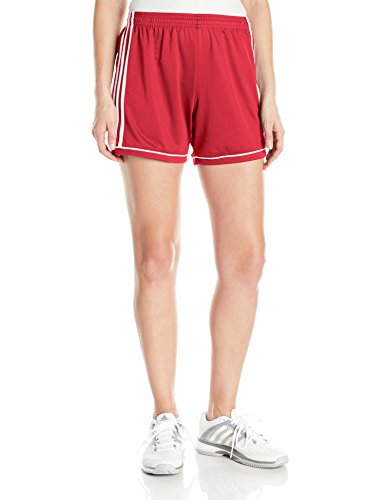 Adidas Women's Soccer Squadra 17 Shorts - X-Small - Power Red/White
