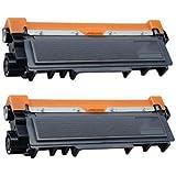 Prestige Cartridge TN2320 Pack de 2 Cartouches de Toner compatible avec Imprimantes Brother DCP/HL/MFC