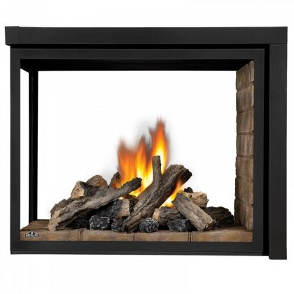 Napoleon BHD4PN Ascent Multi-View Direct Vent Gas Fireplace Up to 30 000 (Direct Vent Peninsula Fireplaces)