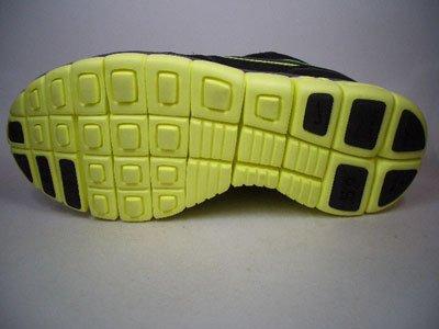 Nike Free Waffle AC 443913-007 Schwarz-Gelb 42