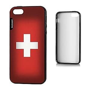 iphone 6 4.7 Bumper Case Switzerland National Flag