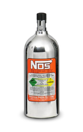 NOS 14720-PNOS 2.5 lb. Polished Nitrous Bottle