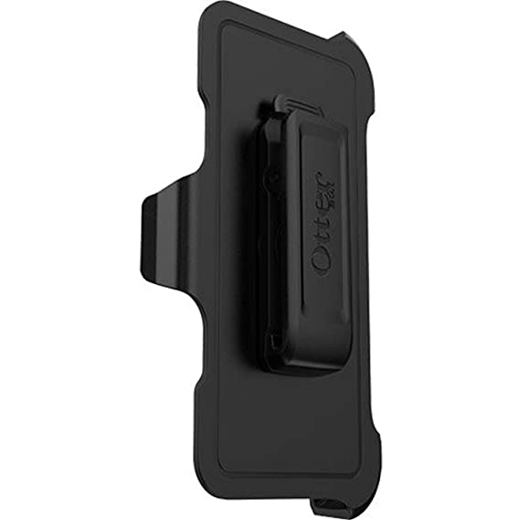 the latest 92970 61e32 OtterBox Defender Series Holster Belt Clip REPLACEMENT for Apple iPhone  X/iPhone 10 ONLY - Non-Retail Packaging - Black