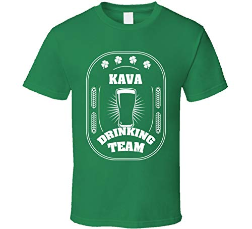 SHAMBLES TEES Kava Drinking Team St. Patrick's Day Last Name Group T Shirt L Irish Green