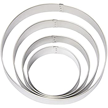 Wilton 2308-0914 Nesting Circles Cookie Cutters, Set of 4
