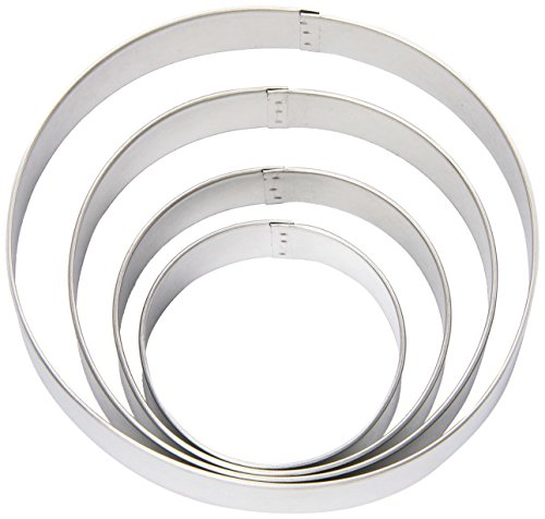 Wilton Nesting Circles Cookie Cutters, Set of 4