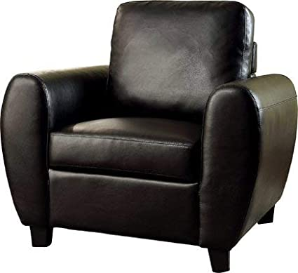 Astonishing Amazon Com Faux Leather Accent Chair With Removable Machost Co Dining Chair Design Ideas Machostcouk
