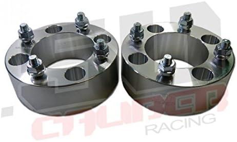 """QuadBoss 250-411074-1215 Aluminum ATV Wheel Spacers 2.5/"""" 4//110"""