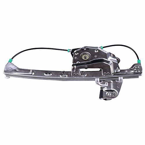 cciyu Rear Left Drivers Side Power Window Lift Regulator Replacement for 2000-2005 Cadillac DeVille (NO Motor Assembly)