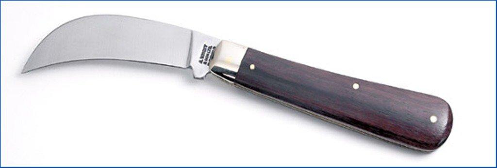 Un Wright hecha en Sheffield poda navaja plegable.. Blade menos de 3
