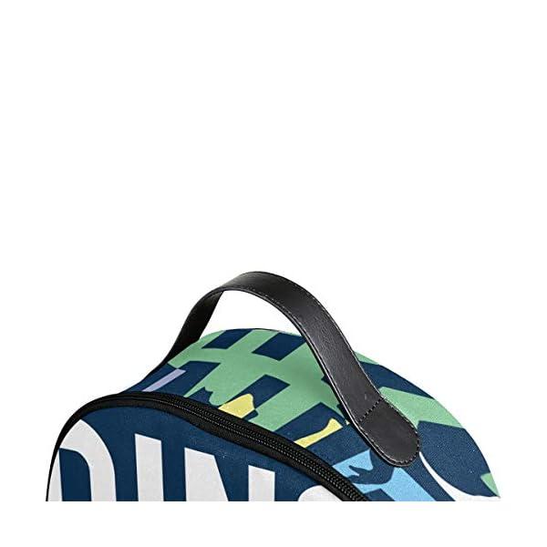 Dinosauro blu navy zaino per donne adolescenti ragazze borsa alla moda borsa libreria bambini viaggio università casual… 4 spesavip