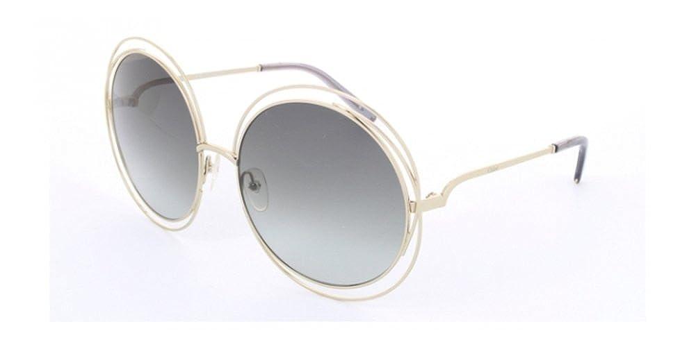 Chloé CE114S CARLINA GOLD (737) - Gafas de sol: Amazon.es ...
