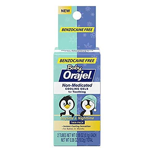 Orajel Baby Gels for Teething (Pack of 2)