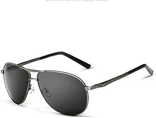 WY-Tong Gafas Gafas de Sol de los Hombres al-magnesio Gafas de Sol polarizadas Pesca Conductor al Aire Libre Viajes Playa Visera Especial UV-Prueba