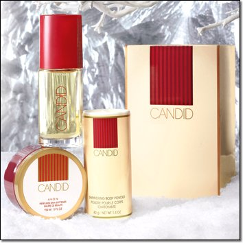 Avon Candid Cologne Gift Set (Candid Avon Spray Cologne)