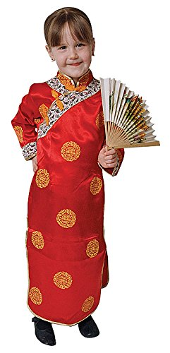 Dress Up America Conjunto de Disfraces de niña China
