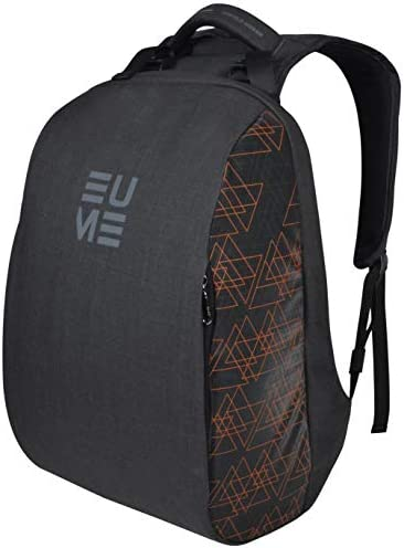 EUME Genx Massager 15.6 inch Laptop Backpack, Anti-Theft Water Resistant and 26 LTR Backpack with 2 Port USB Charging